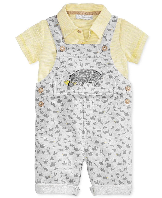 Hippo Shortall /& Polo Set First Impressions Baby Boys 2-Pc