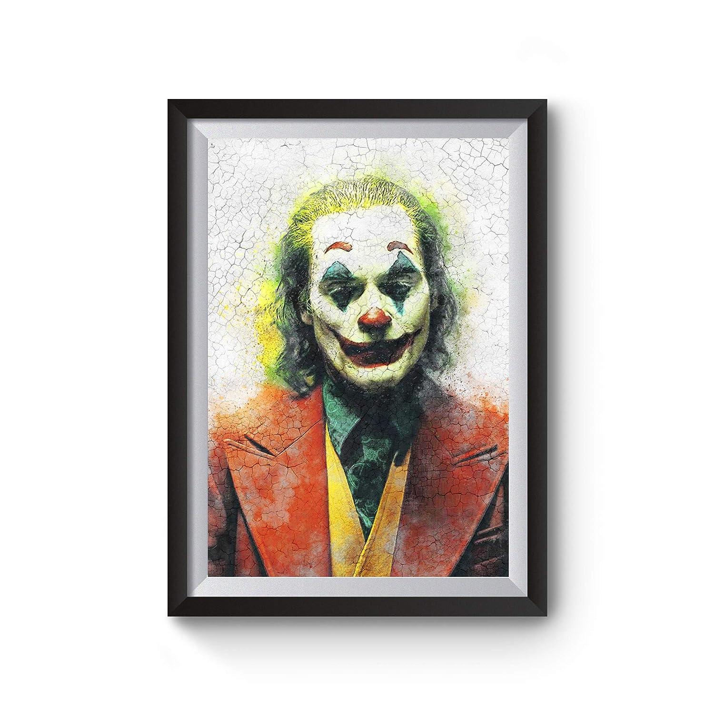 Joker 2019 Joaquin Phoenix Arthur Fleck Movie Poster Wall Art Home Decor Print