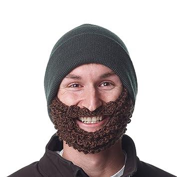 The Original Beard Beanie TM -Lumberjack Forrest Green d36b661d65f