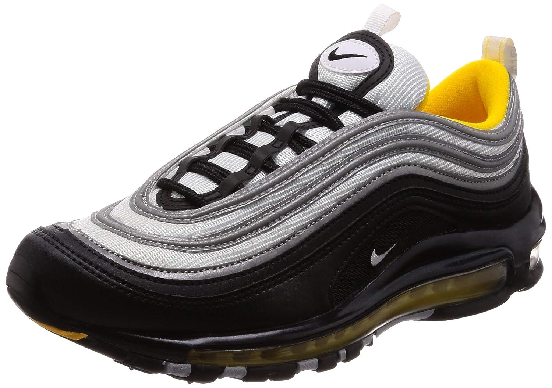 Black, white-yellow Nike Air Max 97 Mens