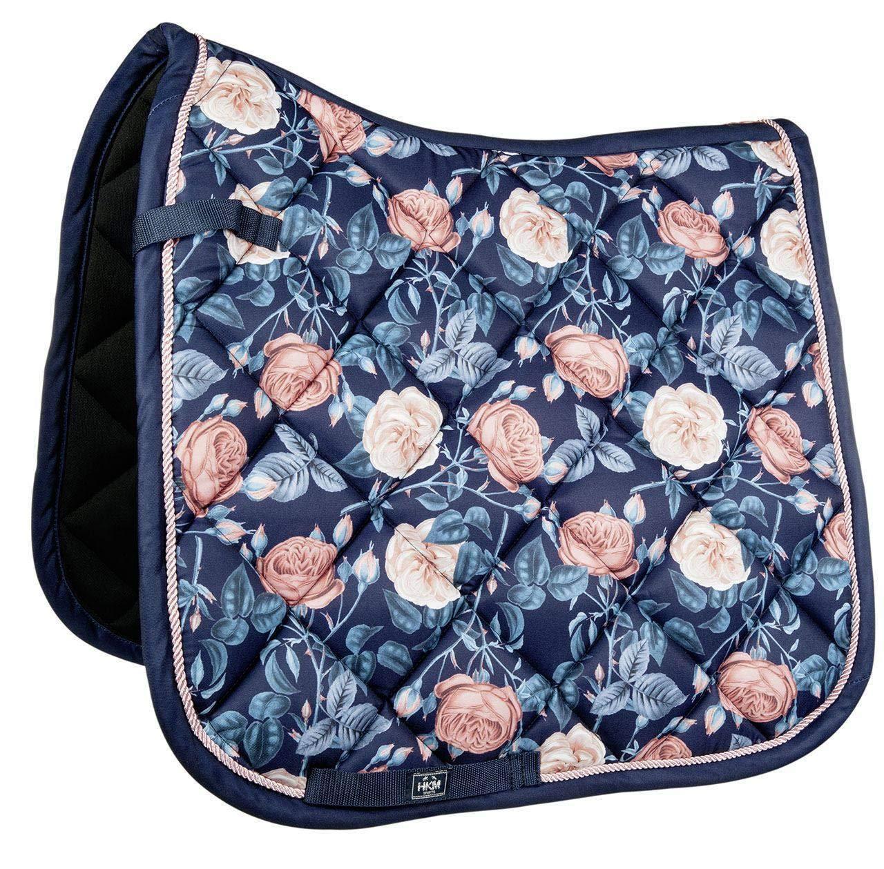 Hkm Hkm 4057052233500 Flowerpower-6947 Saddle Cloth Dark bluee Apricot Dress