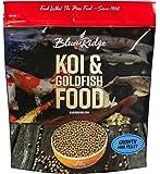Blue Ridge Fish Food Pellets, Koi and Goldfish Growth Formula, Mini Floating Pellet, Balanced Diet