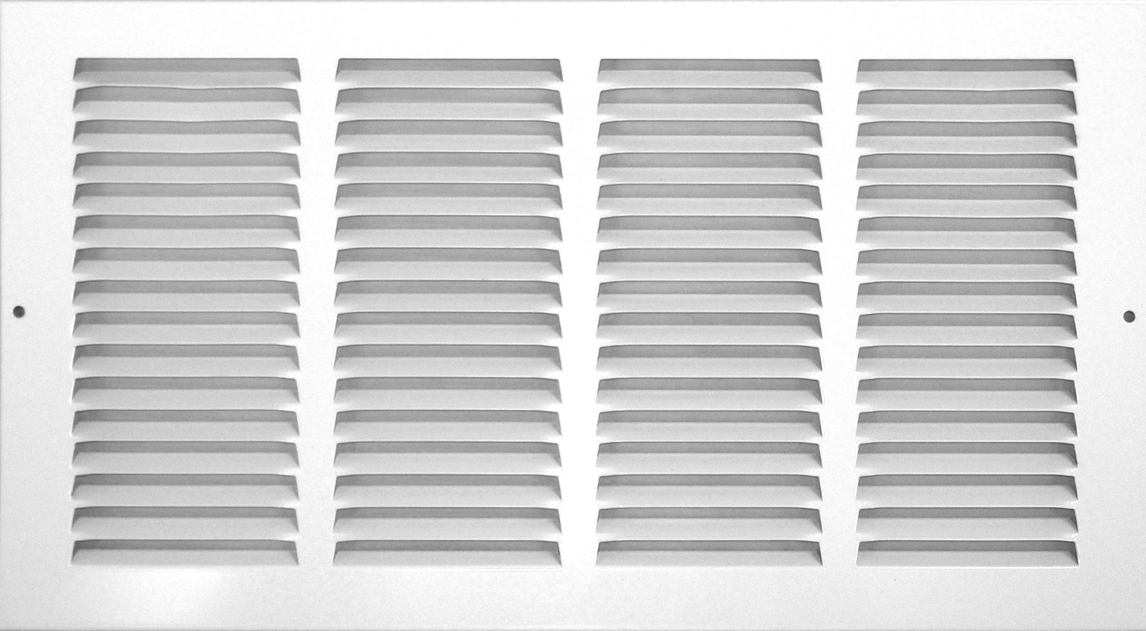 Accord ABRGWH2514 Return Grille with 1/2-Inch Fin Louvered, 25-Inch x 14-Inch(Duct Opening Measurements), White