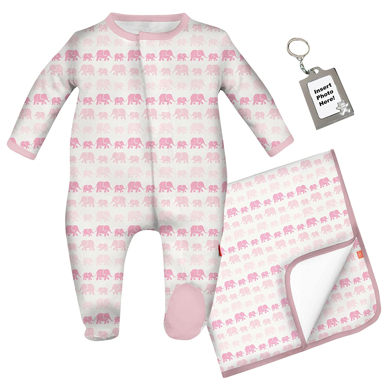 Amazon Magnificent Baby Magnetic Me Silky Modal Footie Footed
