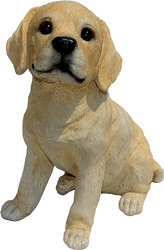 Michael Carr Designs Yeller Labrador L Yellow Puppy Love Outdoor Dog Figurine