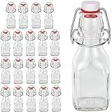 20 Glasflaschen 125ml mit Bügelverschluss - Serie Swing 0,125L zum Selbstbefüllen