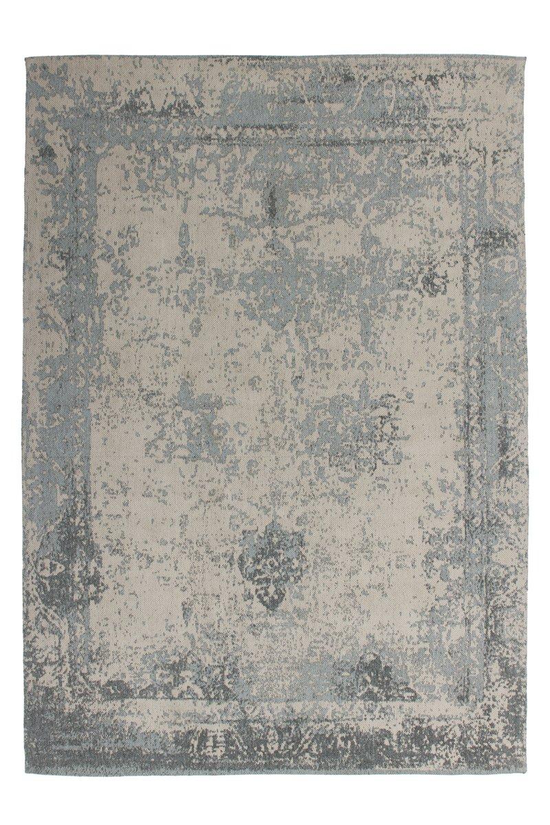 Lalee Teppich Wohnzimmer Carpet modernes Design Vintage Rug Nostalgia 285 Grau Baumwolle 160x230cm   Teppiche günstig online kaufen