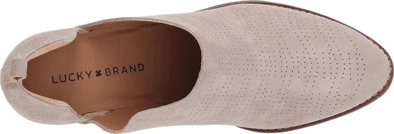 Lucky Brand Women's Fayth Ankle Boot B07CKC56VW 8 B(M) US|Chinchilla
