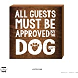 Prinz Dog Approved Plaque