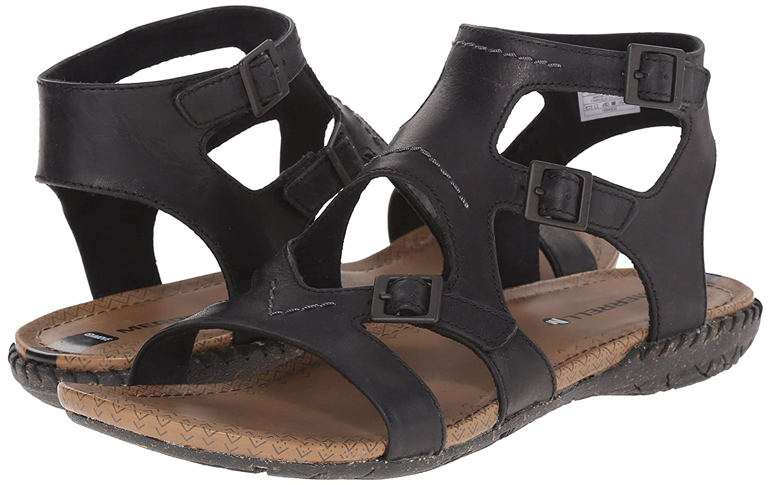 Amazon.com | Merrell Women's Whisper Buckle Gladiator Sandal | Sport Sandals  & Slides