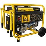 WEN 56551, 5000 Running Watts/5500 Starting Watts, Gas Powered Portable Generator