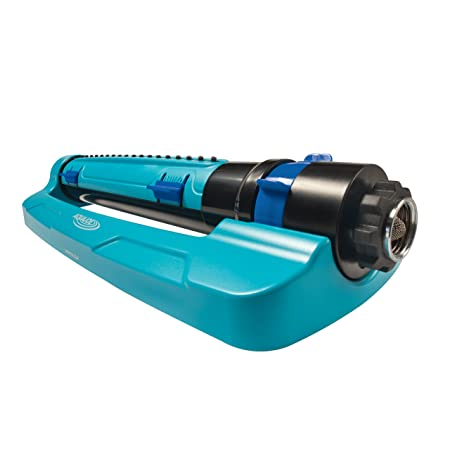 Sun Joe Sji Tls18 3 Way Oscillation Turbo Oscillation Lawn Sprinkler W/Range, Width, Flow Control by Sun Joe