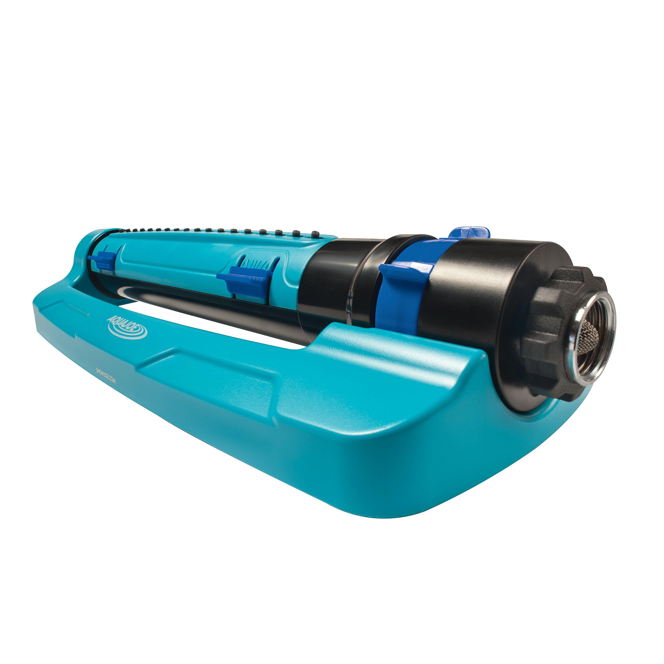 Sun Joe SJI-TLS18 3-Way Oscillation Turbo Oscillation Lawn Sprinkler w/Range, Width, Flow Control