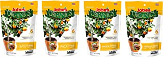 product image for Jobe's Organics Fruit & Citrus Tree Fertilizer Spikes, 3-5-5 Time Release Fertilizer for All Container or Indoor Fruit Trees, 6 Spikes per Package (4)