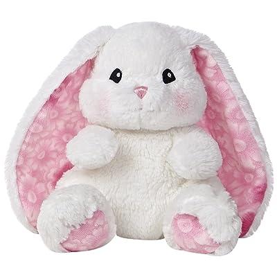 """Aurora World Lopsie Wopsie Bunny Plush, White, 10"""""""