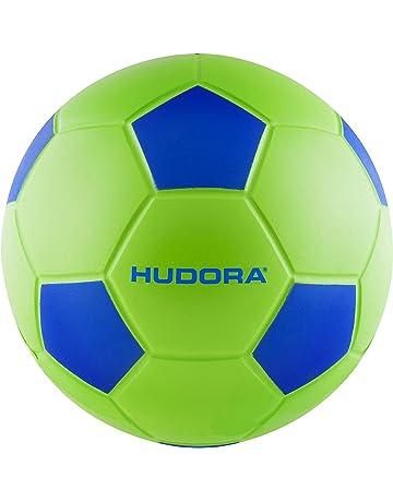 a4584e1f3688f Hudora Ballon de Football Souple Taille 4-71693