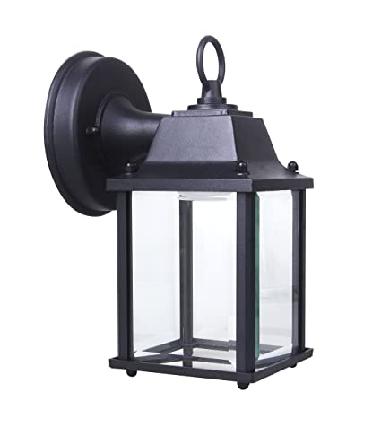 Yeuloum Led Outdoor Wall Lantern Wall Sconce For Porch Light 9 5w