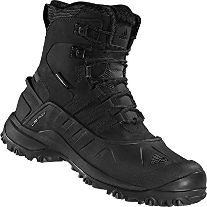 fdcf653e169 adidas Outdoor - Holtanna Boot CP Leather - Men s Black Black Dark Cinder 14