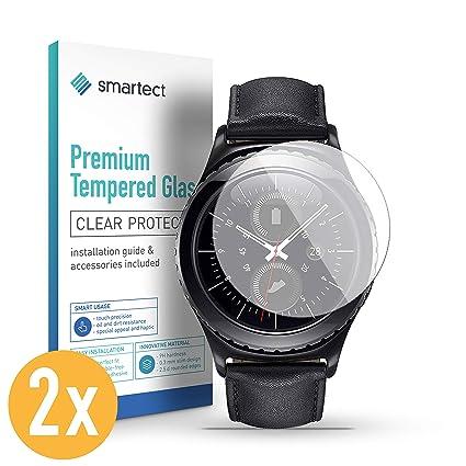 smartect Protector de Pantalla para Samsung Gear S2 Classic/Sport ...