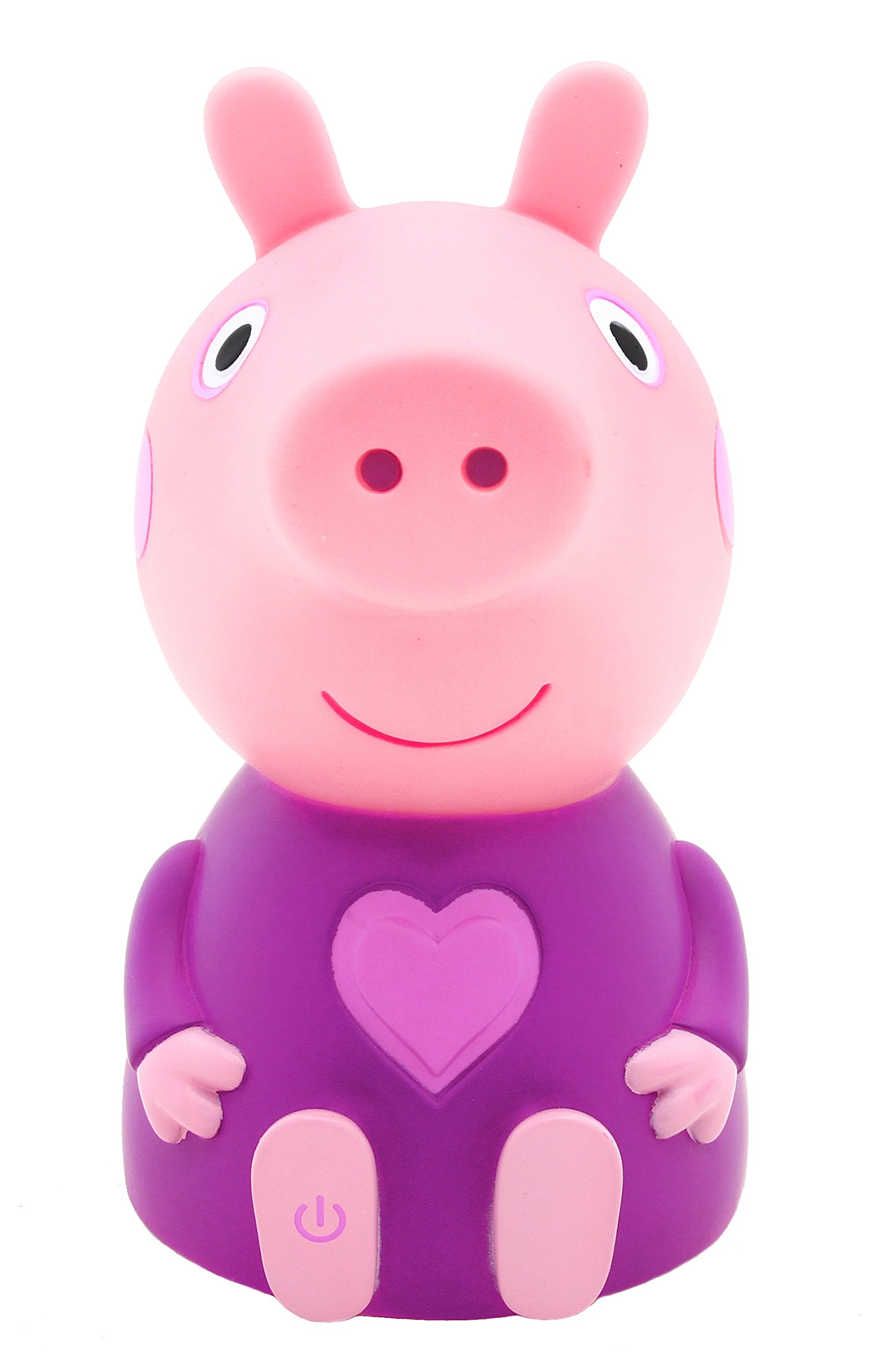 Peppa Pig Night Light - Peppa - Soft and Portable Light-Up Toy