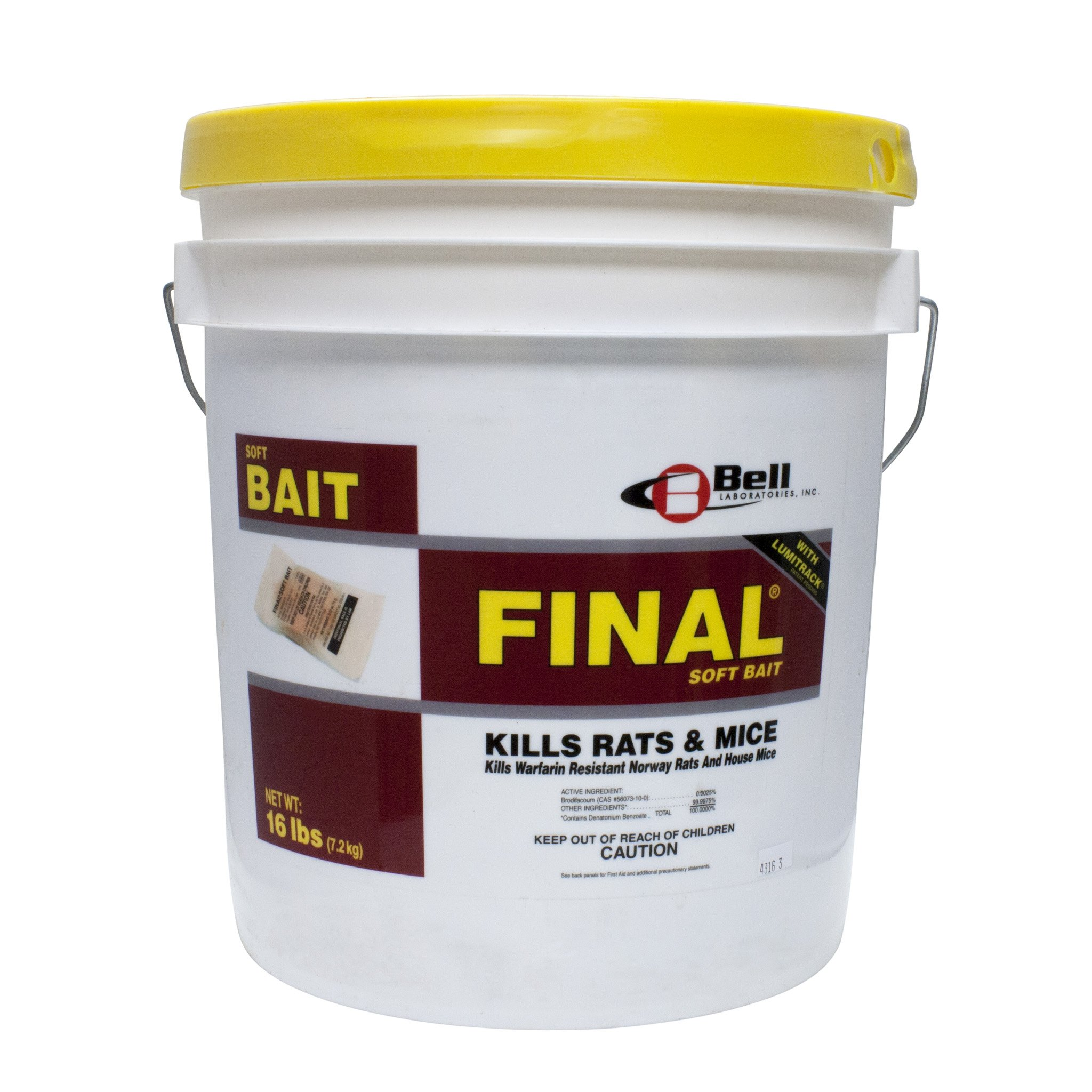 Bell Labs FINAL Soft Bait with Lumitrack (2) 16 lb pails