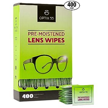 Amazon.com: Toallitas de limpieza prehidratadas para lentes ...