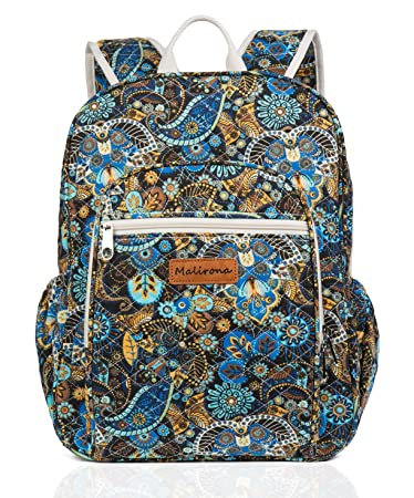105897425864 Amazon.com  Malirona Canvas Campus Laptop Daypacks Backpack School Bags For  Women And Men - Laptop Carrying