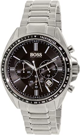 f1073bd63f28 Image Unavailable. Image not available for. Color: Hugo Boss Watches Men's  Sport Chrono Watch (Black)