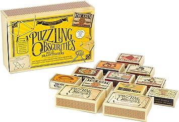Professor Puzzle Caja de Obscuridades Rompecabezas , color ...