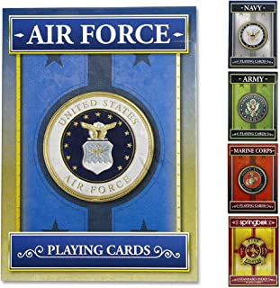 product image for Springbok - United States Air Force Playing Cards - Officially Licensed 52 Playing Card Deck - Made in USA