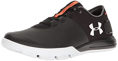 Under Armour Men's Charged Ultimate 2.0, Black (001)/White, ...