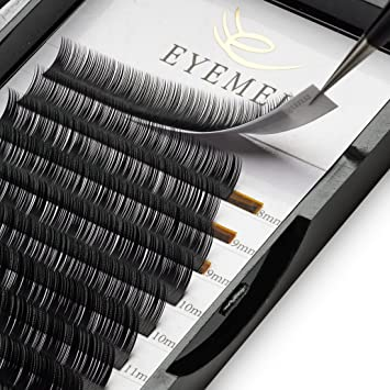 6cacd2e1587 Eyelash Extensions 0.15mm C Curl 9-15 Mixed Eyelash extension, Light Lashes  Individual
