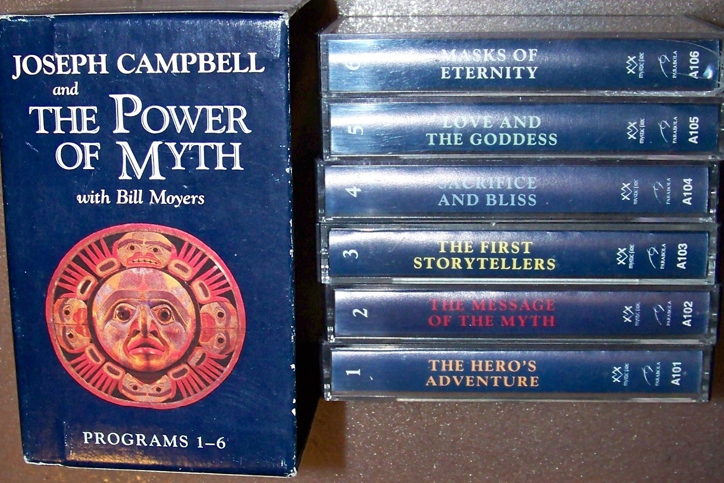 the power of myth joseph campbell with bill moyers 6 one hour cassettes