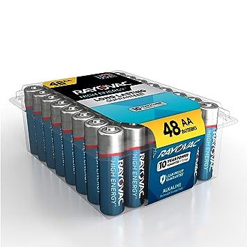 Amazon.com: Rayovac - Pilas AA (pilas alcalinas de doble A ...