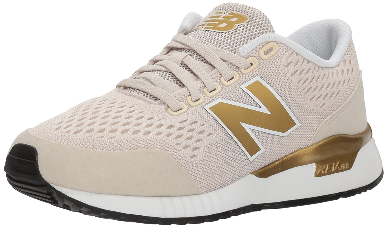 New Balance Women's 005v1 Sneaker B06XXC9RPJ 11 B(M) US|Moonbeam/Brine Metallic