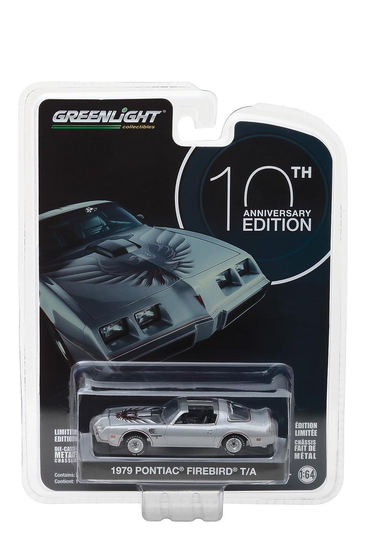 Greenlight 1979 Pontiac Firebird Trans Am T/A Silber Anniversary 1:64