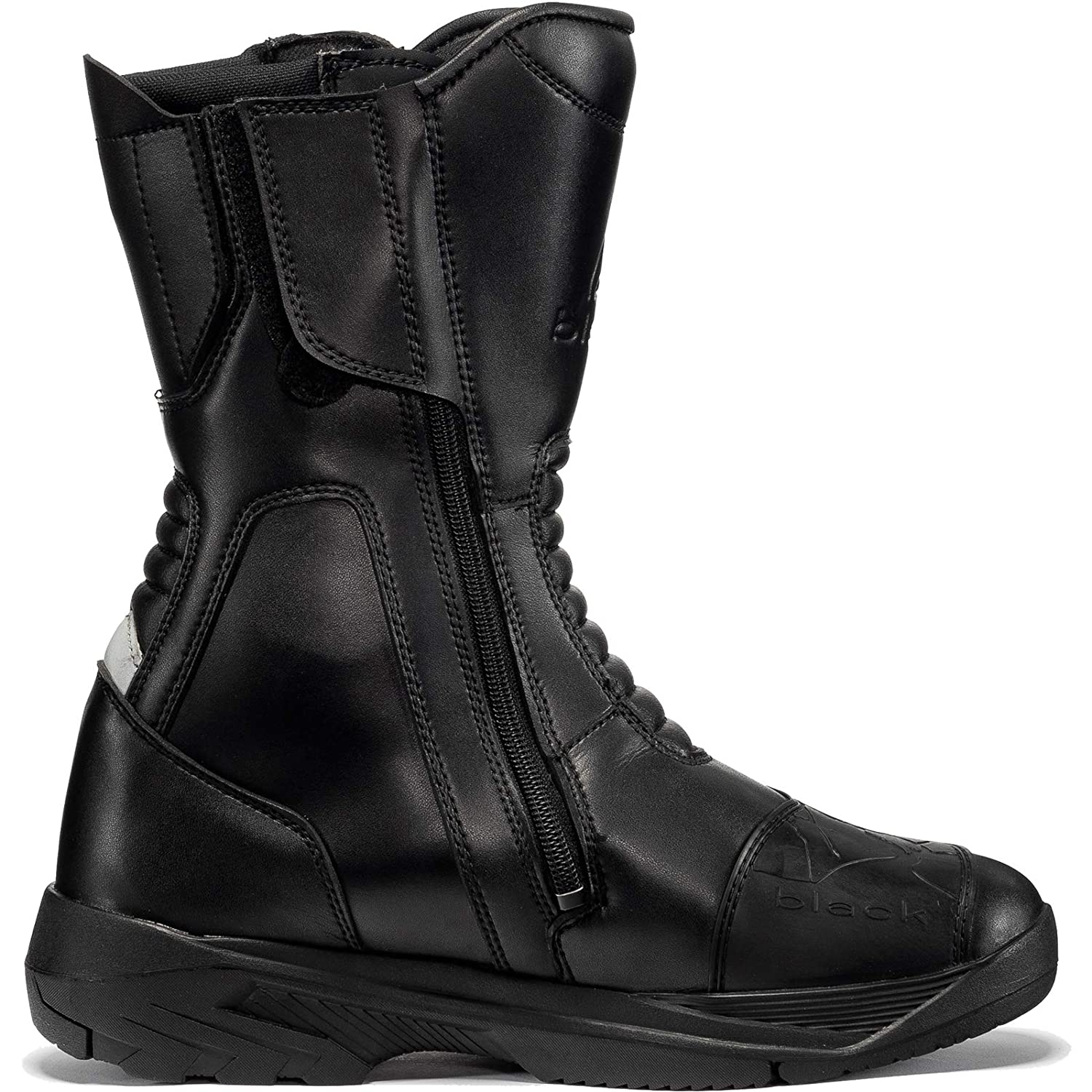 Black Route WP Touring Motorcycle Boots