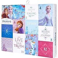 Disney Women's Frozen 12 Days Advent Box, Assorted Bright 2, Fits Sock Size 9-11 Fits Shoe Size 4-10.5