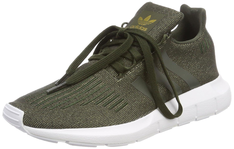 Adidas Swift Run W, Zapatillas de Gimnasia para Mujer 41 1/3 EU|Marrón (Carnoc / Carnoc / Ftwbla 000)