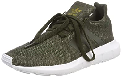 adidas Swift Run W, Chaussures de Fitness Femme, Marron (Carnoc/Carnoc/Ftwbla 000), 37 1/3 EU