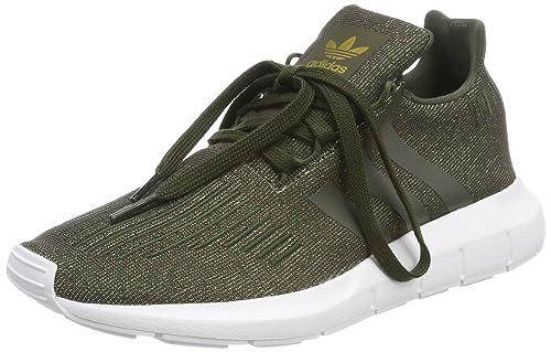 Adidas Swift Run J, Zapatillas de Gimnasia Unisex Niños, Rosa (Icey Pink F17/Core Black/FTWR White), 36 EU