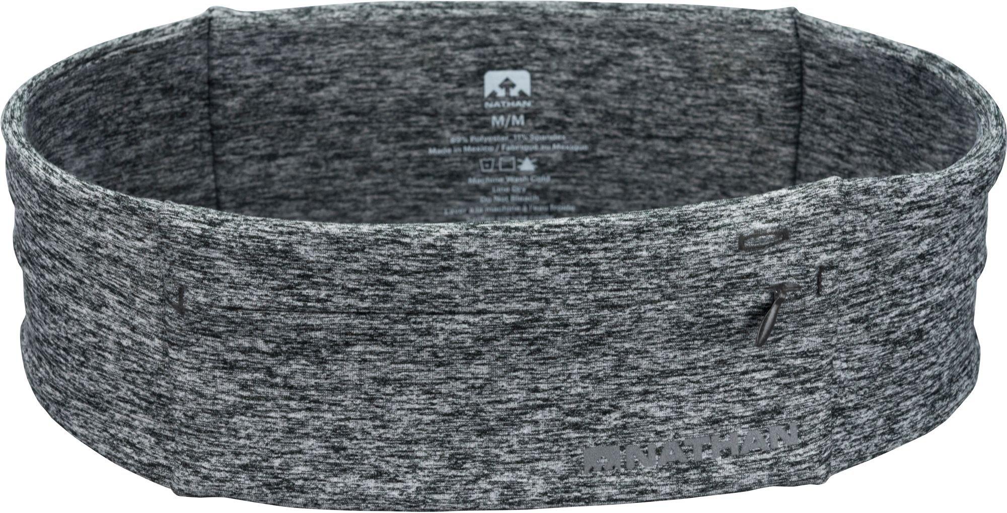 Nathan Zipster Belt (Heathered Grey, L)