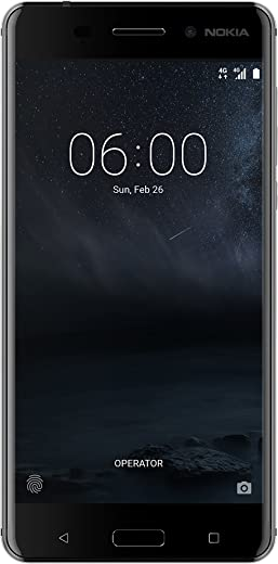 Nokia 6 Art Black Edition Smartphone, Memoria Interna da 64 GB, Dual SIM (1 slot SIM + 1 slot SIM/MicroSD), Sistema Android, Nero