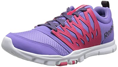 Reebok Women's Yourflex Trainette RS 5.0L Training Shoe, Lush OrchidBlazing Pink