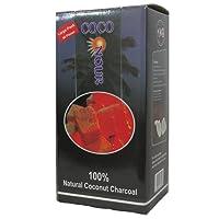 Nour Coco Larger Cube Hookah Charcoal 72 Pcs