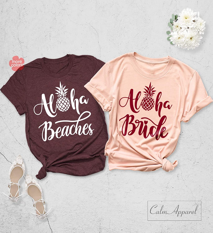 31e96306134 Amazon.com  Aloha Bride Shirts