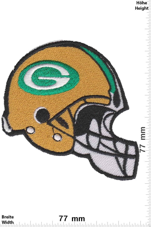Sport USA Helm zum aufb/ügeln Patch Sport USA NFL Green Bay Packers Iron On Aufn/äher Green Bay Packers
