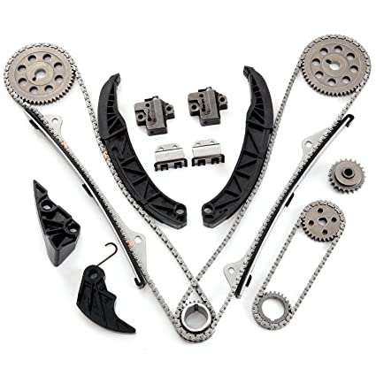 ECCPP Timing Chain Kit for 2006-2011 Hyundai Azera Kia Sorento Sedona 3 3L  3 8L DOHC 24V