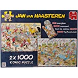 Jumbo - 619003 - 2 Puzzles - Jvh - Food Frenzy - 1000 Pièces