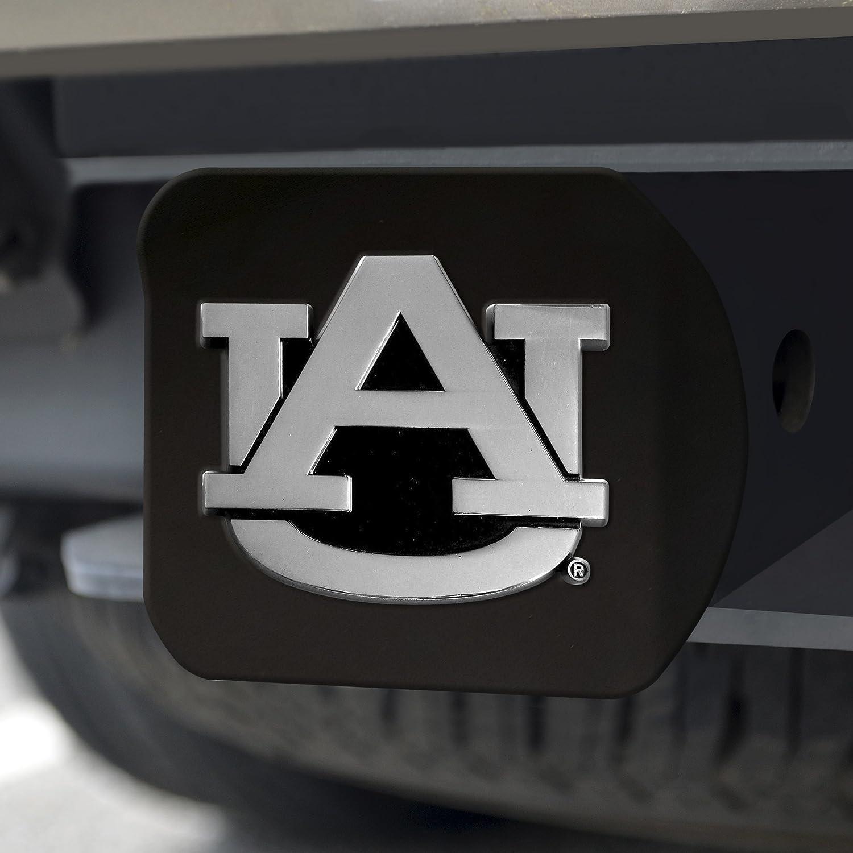FANMATS 21026 Team Color 3.4x4 Auburn Black Hitch Cover